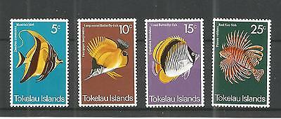Tokelau 1975 Fish Sg,45-48 U/mm Nh Lot 674A