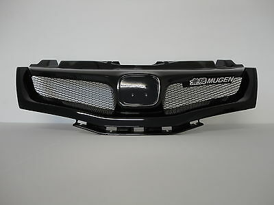 Honda Civic Fn 3Dr 06- M-Style Grill Painted Nighthawk Black (B92P)