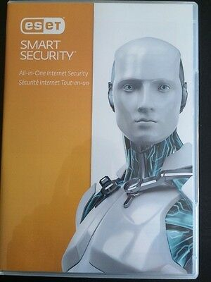 Eset smart security 2017 (New version 10) 1 PC 1 year updates in English only