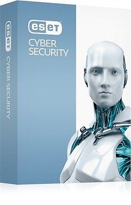 Eset Cyber security Pro 2017 1 PC 1 year/an updates-mise a jour(Mac)