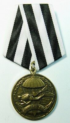 Russian Navy Special Forces Spetsnaz Veteran VMF Diver Medal + Blank Document