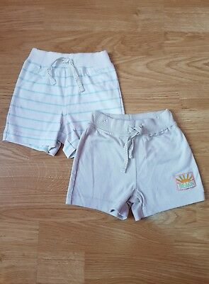 Baby Boys 2 Pack Shorts Size 3-6 Months