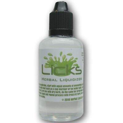 50ml Original Licks Herbal Liquidizer - Liquidize Concentrates & Herbs -Make Oil