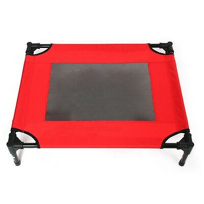 Pet Tent Camp Bed Outdoor Foldable  red