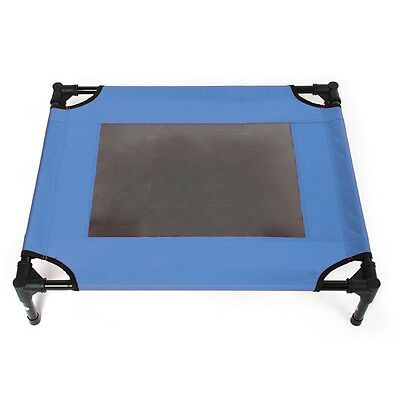 Pet Tent Camp Bed Outdoor Foldable  blue