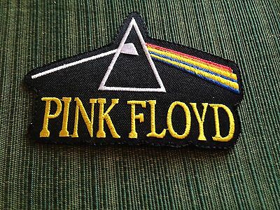 """Pink Floyd Rock Band Patch Dark Side Moon Rainbow The Wall Iron On Sew Shirts 4"""""""