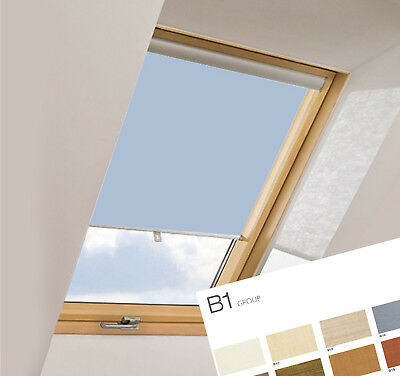 Blackout Thermal Roller Roof Skylight Blinds For All Fakro Windows B1