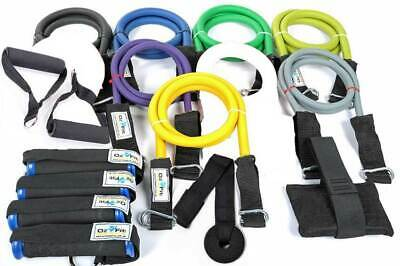 800lb 16 Piece Resistance Band Set