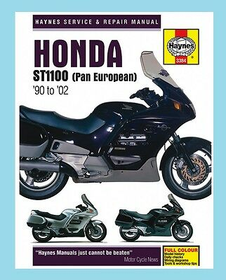 MAN3384 Haynes Workshop Manual Honda ST ST1100 Pan European 1990 to 2002