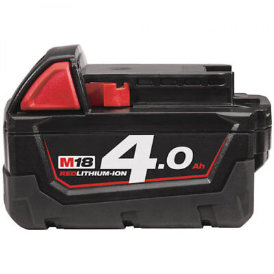 Milwaukee M18B4 18v 4ah 4.0ah Red Lithium Ion Battery * Amazing Value *