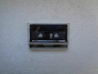 Vintage Audio Cassette TDK SA 90 From 1983 - Fantastic Condition !!