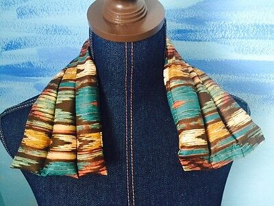 rice flax heat pad hot or cold shoulder neck wrap pack  Herbal Lavender Ikat