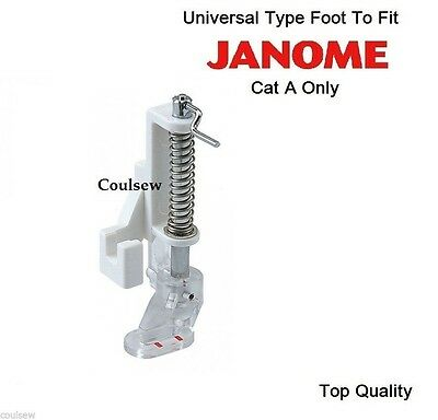 Free Motion Quilting/Darning Embroidery Stippling Foot - Fits Janome Cat A