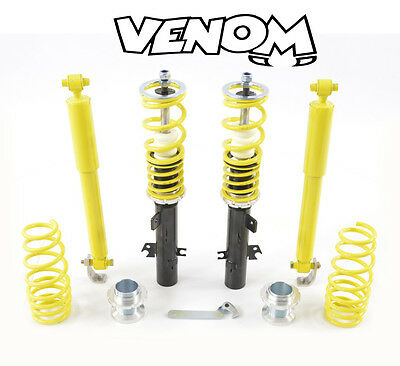 FK STREET Coilovers. Peugeot 207 - 51mm struts (2006-) (SMPT9005) - All Engines