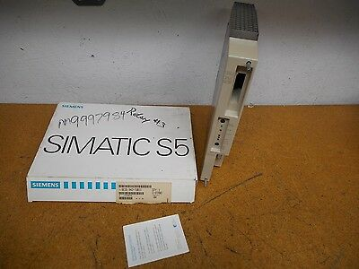 Siemens 6ES5 942-7UB11 Power Supply Module Gently Used