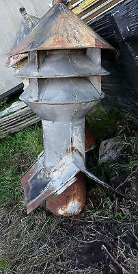 Large Metal Vintage Industrial Factory Roof Vent