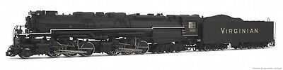 Rivarossi Virginian Blue Ridge Class 2-6-6-6 HO Scale Steam Locomotive HR2407