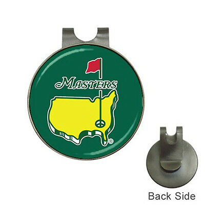 Masters PGA Tour Masters Golf Ball Marker Hat Clip Hot!