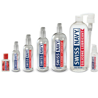 Swiss Navy Silicone Based Sex Lube Personal Lubricant Couples Choose Size