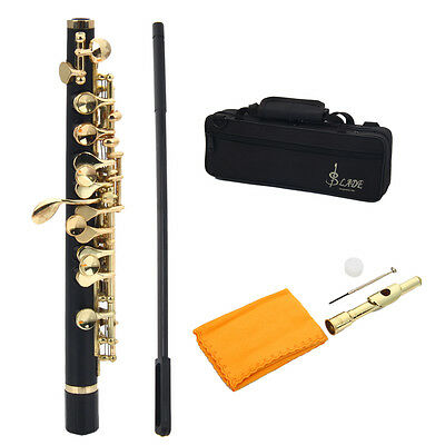 New Professional Brass Keys & ABS Body Piccolo Golden C Key for School Student