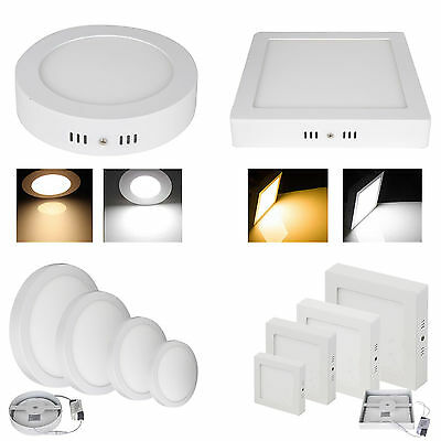 6W-24W LED Ceiling Panel Light Bombillas Surface Mount Downlight Blanco Lamp