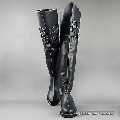 Final Fantasy Ⅶ(Crisis Core)  Genesis Cosplay Shoes Boots