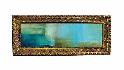 Modern Mid Century Abstract Oil Painting Original Signed