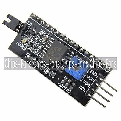 10PCS IIC I2C TWI SP​​I Serial Interface Board Module Port For Arduino 1602LCD