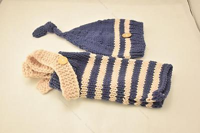 Newborn Baby Girls Boys Crochet Knit Costume #D Photo Photography Prop Outfits