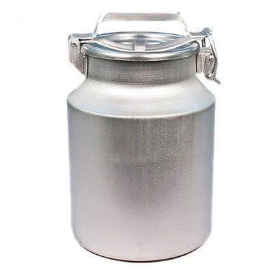 Aluminium Flask Container for milk etc water holds 25 L Milk Cans Bottles NEW
