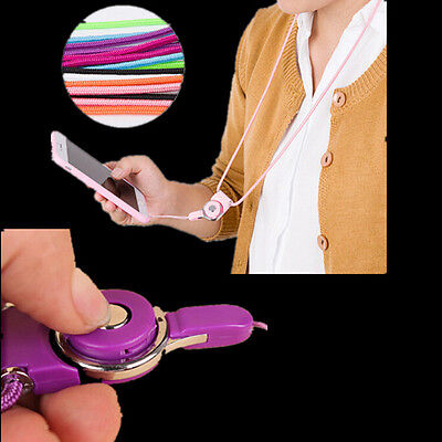 Neck Strap Mobile Phone Holder Detachable Badge Hot ID Pass Card for Lanyard