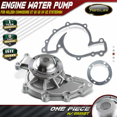 Engine Water Pump for Holden Commodore VN VP VR VS VT VU VX VY 3.8L 88-04 Gasket