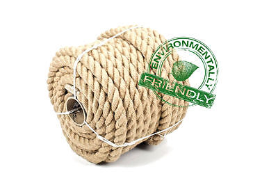 30 Meters Natural Jute Rope 3 Strand Braided Twisted Choice of Diameter 6mm-40mm