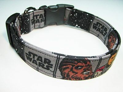 Charming Star Wars The Force Awakens Chewbacca Standard Dog Collar