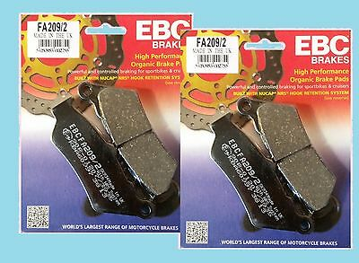 2x Sets EBC FA209 Front Brake Pads for BMW BMW F F800 GS  F800GS 2008 to 2015