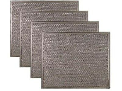 Broan 1172137 Compatible Range Hood Aluminum Grease Filter Replacement (4 PACK)