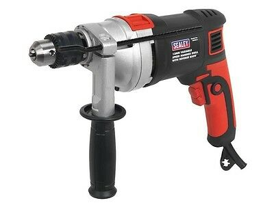 Sealey Professional 13Mm 850W Hammer Drill + Variable Speed + Reverse Control