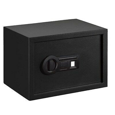 New Authentic Stack-On Personal Safe Biometric Lock with Shelf Black, PS-15-10-B