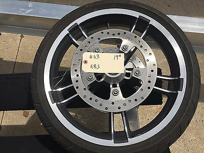 """Harley-Davidson 2014-2017 19""""  Enforcer Front Wheel with ABS    #63"""