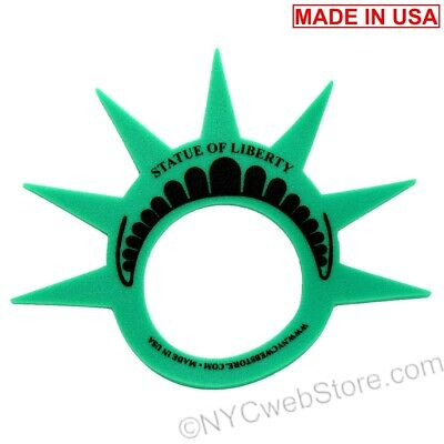 Statue of Liberty NYC Crown - New York City Souvenir Foam Hat Travel Gift