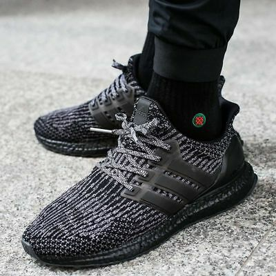 2040ffc4f4a01 Adidas Ultra Boost 3.0 8 8.5 9 9.5 10 10.5 Ba8923 Triple Black Ace  Primeknit 2.0