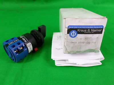 Kraus & Naimer CA10-A540-600-FT1 Selector Switch