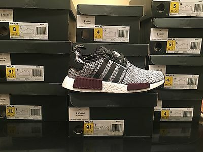 a89231cf66d51 ADIDAS NMD R1 Champs Exclusive Burgundy Black White B39506 Sizes 4y ...