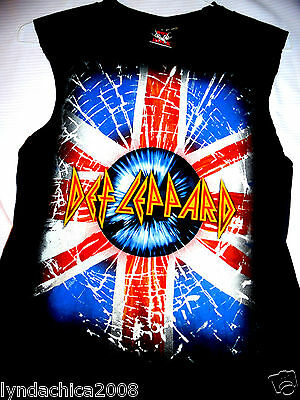 VINTAGE DEF LEPPARD Tank Top (Size S)