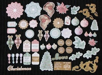 Kaisercraft 'CHRISTMAS WISHES' Collectables Die Cut Shapes Xmas/Santa KAISER
