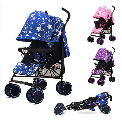 New Baby Stroller Infant All Terrain Pram Travel System Buggy Carriage Pushchair