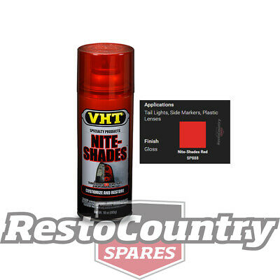VHT LENS Spray Paint NITE-SHADES TINT - RED taillight tail stop light blinker