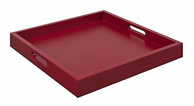 Convenience Concepts Palm Beach Serving Tray, Red