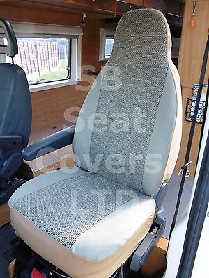 To Fit A Peugeot Boxer Motorhome, 2006, Seat Covers, Hari Ii Mh-046, 2 Fronts