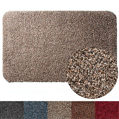 Entrance Door Mat - Machine Washable, Absorbent Dirt Trapper Mat